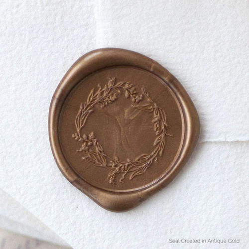 Garden Wreath Wax Seals - 25 Pack