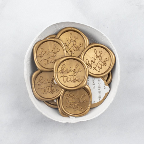 Bride Tribe Wax Seals - 25 Pack