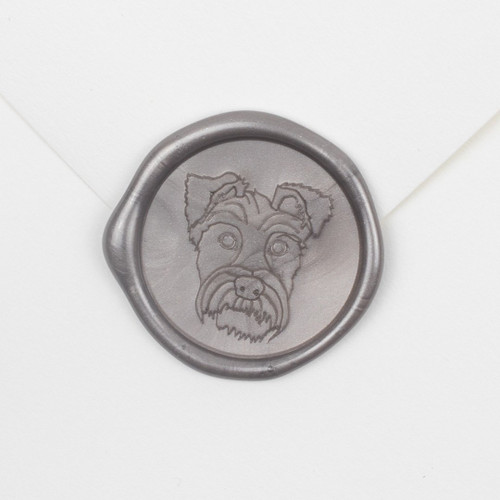Vince Wax Seals | Terrier Wax Seals - 25 Pack