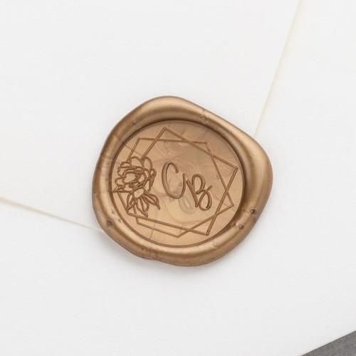 Adorn Monogram Wax Seals