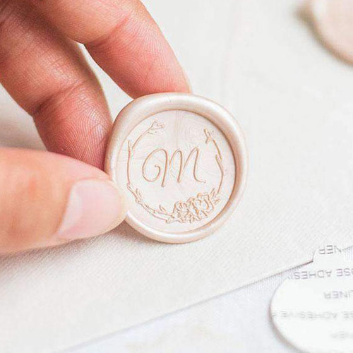 Lucy Single Initial Wax Seals
