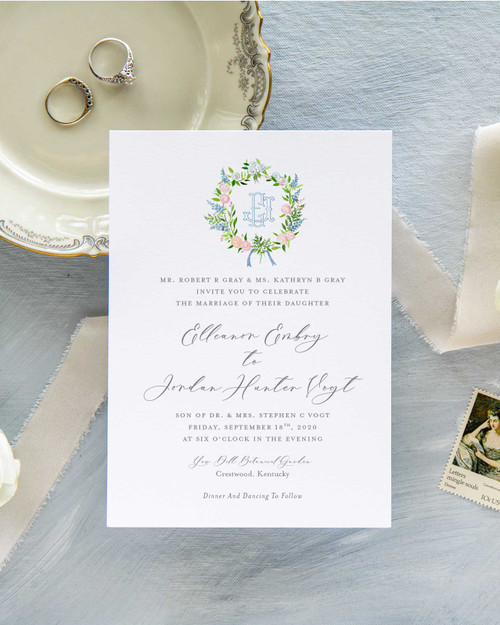 Wedding Invitation | Ellie Collection