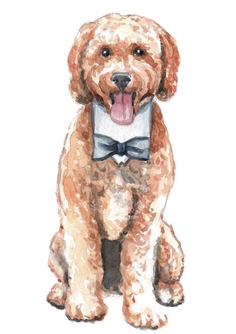 Additional Custom Pet Watercolor
