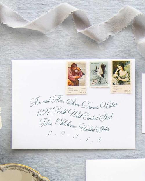 Roosevelt Envelope Addressing | Color Ink