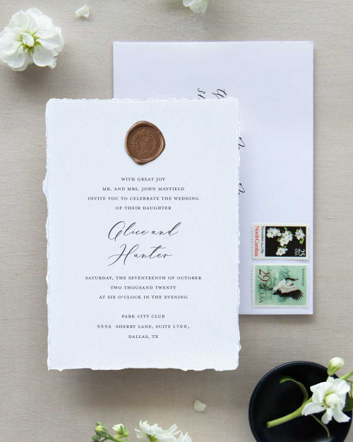 Wedding Invitation | Grace Collection