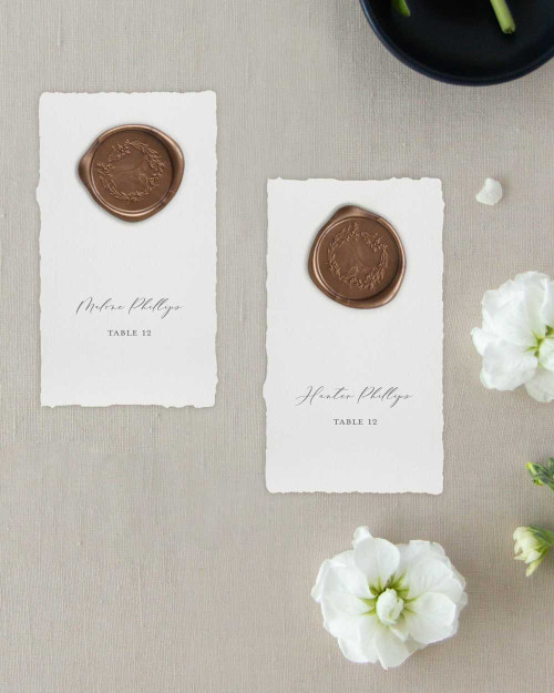 Seating Chart Cards | Grace Collection