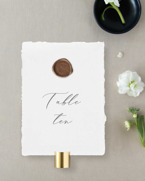 Table Numbers | Grace Collection (25 Pack)
