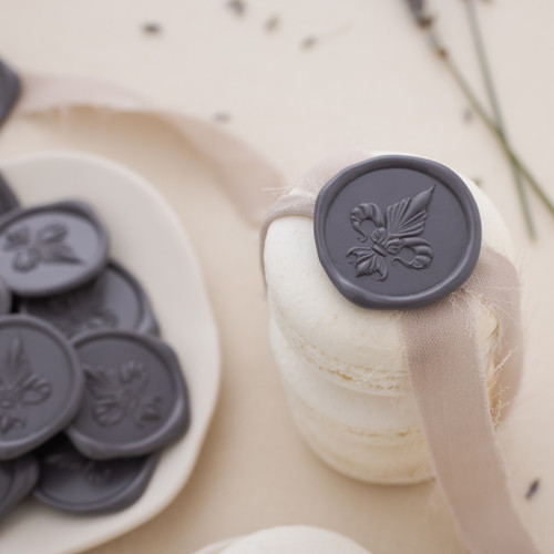 Fleur De Lis Wax Seals - 25 Pack