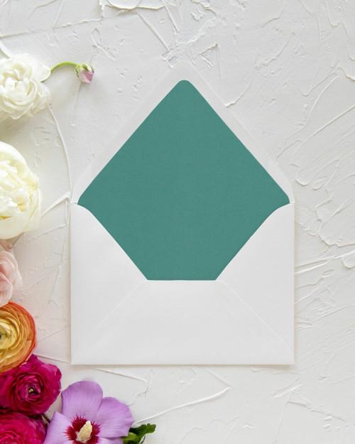 Sample Lined Envelopes | Color Liners
