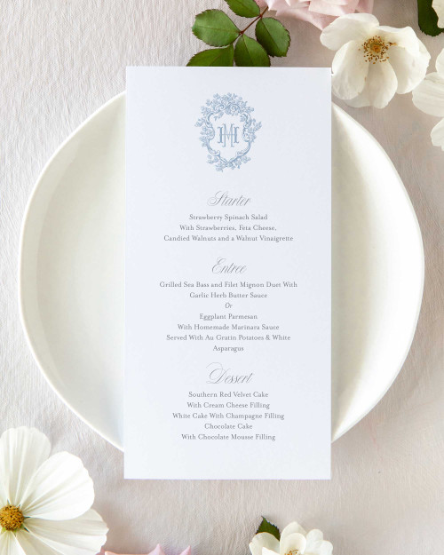 Menu   Barry Collection
