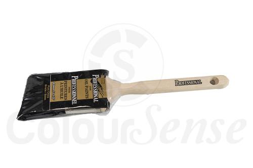"""Professional Black Bristle Brush 2.5"""""""