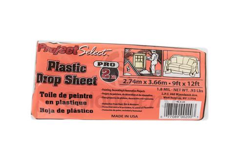 Plastic Drop Sheet 2 pc - 9' x 12'