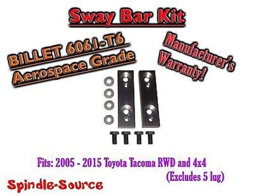 05+ Toyota Tacoma / 07+ FJ Cruiser / 03+ 4Runner Sway Bar Kit For Leveling Kit