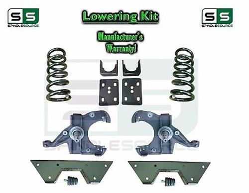 "1973 - 87 Chevrolet GMC C10 C15 4"" / 6"" Lowering Drop Kit 1.25"" Rotors 4/6 NOTCH"
