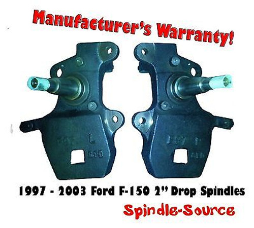 """1997 - 2003 Ford F-150 F150 2"""" inch Drop Spindles 97-02 Expedition / Navigator"""
