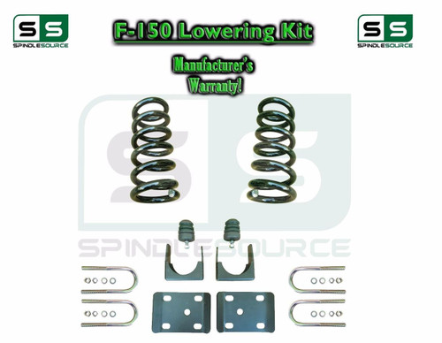 """1997 - 2003 Ford F-150 F150 V8 Ext Cab 2WD 3"""" / 6"""" Drop Lowering Kit Coils"""