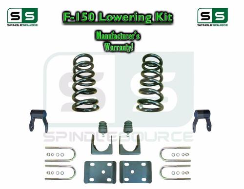 "1997 - 2003 Ford F-150 F150 V8 Reg Cab 2WD 3"" / 5"" Drop Lowering Kit Coils"