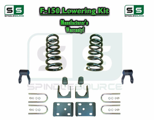 """1997 - 2003 Ford F-150 F150 V8 EXT Cab 2WD 3"""" / 5"""" Drop Lowering Kit Coils"""