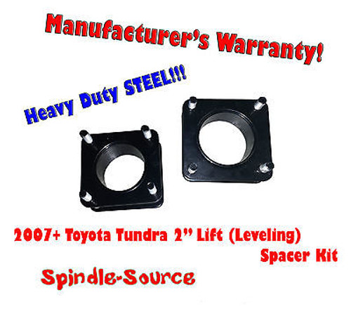 """2007 - 2013 Toyota Tundra 2WD 4x2 2"""" in FRONT Leveling Lifting Strut Spacer Kit"""