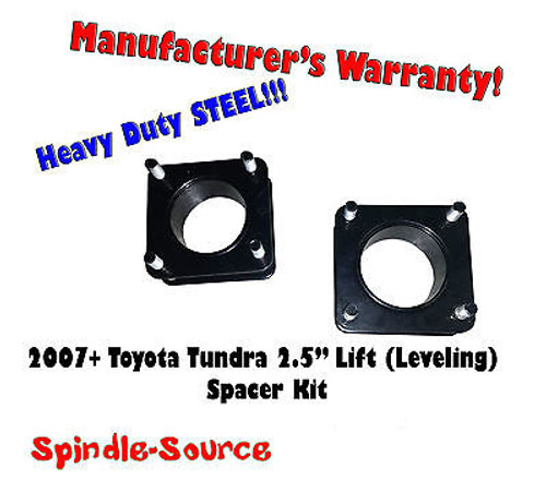 """2007 - 2013 Toyota Tundra 2WD 4x2 2.5"""" in Leveling Lifting Strut Spacer Kit"""