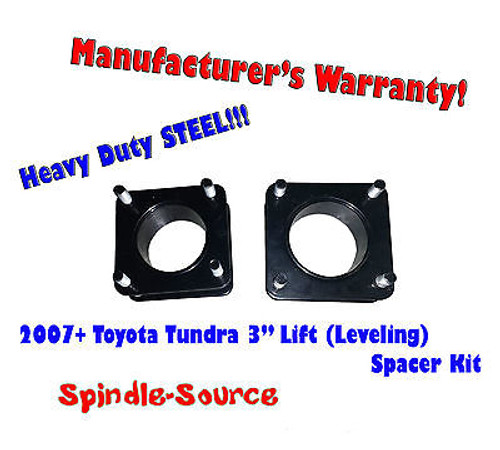 """2007 - 2013 Toyota Tundra 2WD 4x2 3"""" in FRONT Leveling Lifting Strut Spacer Kit"""