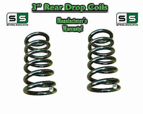 """2007 - 2014 Chevy GMC SUV 3"""" Drop Lowering Coils Springs Yukon Avalanche + MORE"""