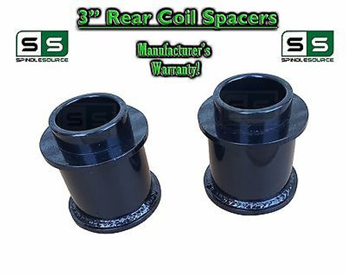 """2009 - 2017 Dodge Ram 1500 REAR 3"""" inch 3in FABRICATED STEEL Coil Spacer Lift"""