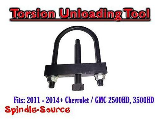2011 - 2015+ Chevy / GMC 2500HD, 3500HD Torsion Unloading Tool