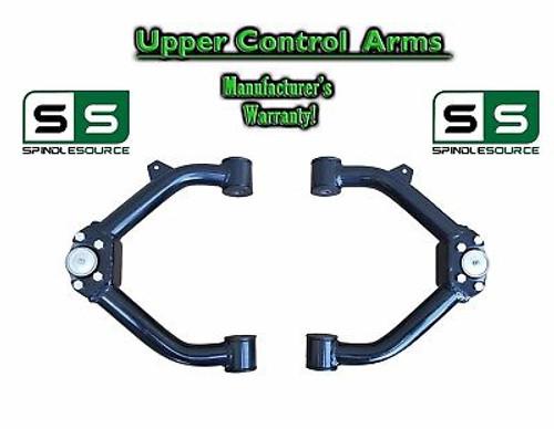 """99 - 06 Chevy Silverado Sierra 1500 TUBULAR UPPER CONTROL ARMS for 2"""" - 3"""" Keys"""