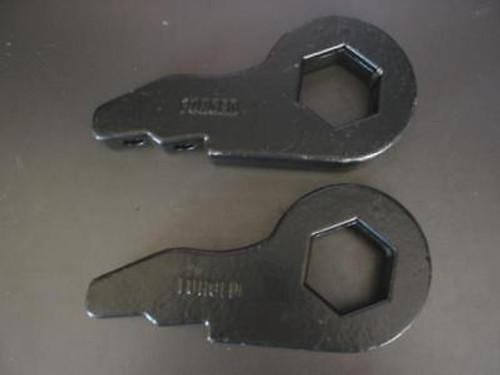 "Torsion Bar Key 2"" Front 88-08 Chevy/GMC 6 Lug 4WD NEW"