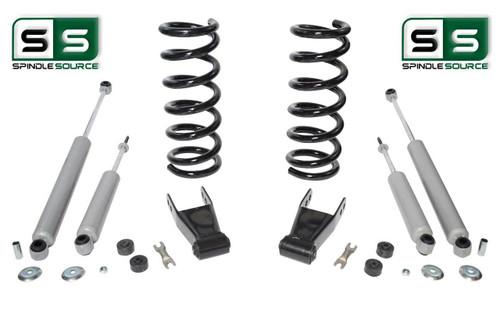 "01-10 Ford Ranger 2WD 2""/1""-2"" Lift Kit 4 Cyl Coil Springs /Rr Shackles/4 Shocks"