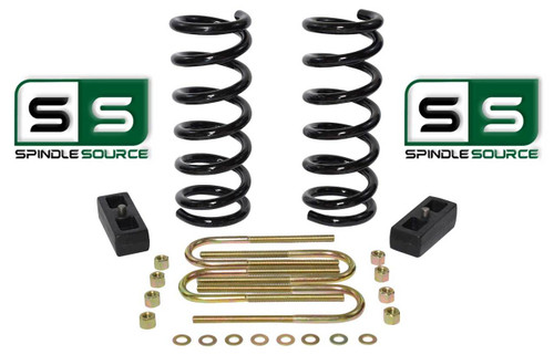 "2001 - 2010 Ford Ranger 2WD 2"" / 2"" Lift Kit 4 Cyl Coil Springs / Lift Blocks"