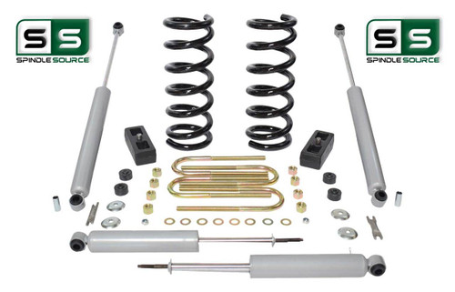 """2001-2010 Ford Ranger 2WD 2""""/2"""" Lift Kit 4 Cyl Coil Springs /Rr Blocks /4 Shocks"""