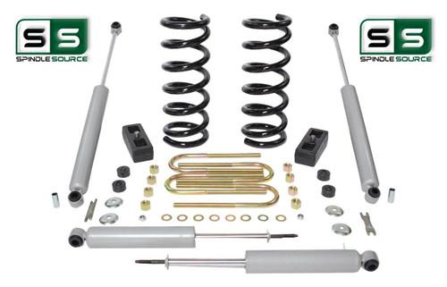 """2001-2010 Ford Ranger 2WD 2""""/2"""" Lift Kit 6 Cyl Coil Springs /Rr Blocks /4 Shocks"""