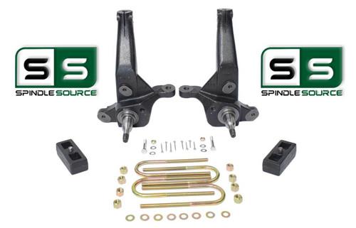 """2001 - 2010 Ford Ranger 2WD 4"""" / 2"""" Lift Kit Spindles / Lift Blocks"""