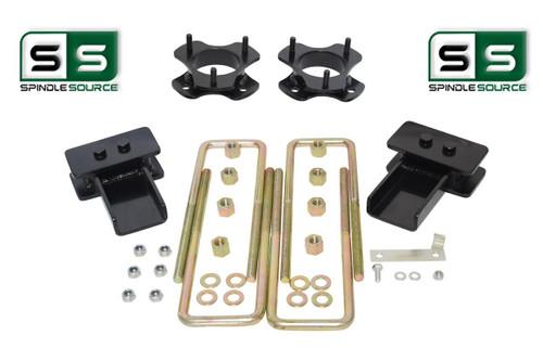 """2""""/2"""" Lift Strut Spacers Blocks U-Bolts Kit Fits 2009 - 2014 Ford F150 2wd"""