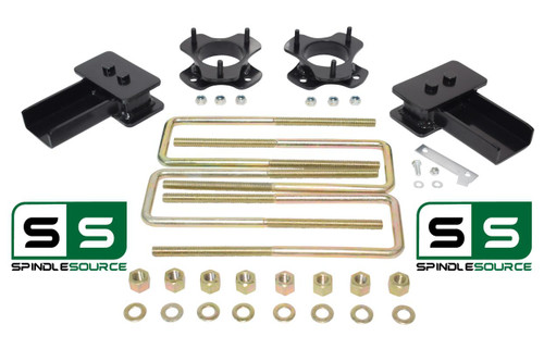 """2""""/2"""" STRUT SPACER AND REAR BLOCK KIT FITS 2004 - 2008 Ford F-150 2WD"""