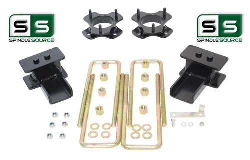 """2""""/1.5"""" STRUT SPACER FABRICATED BLOCK LIFT KIT FITS 2009-2014 FORD F-150 4WD"""