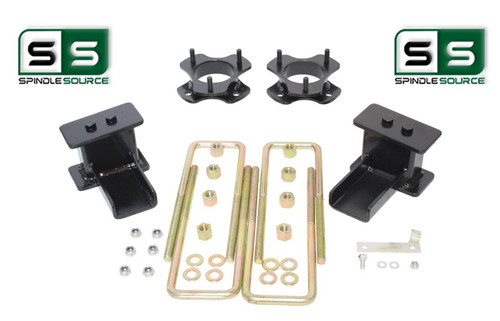 """2.5""""/2.5"""" STRUT SPACER,FABRICATED BLOCKS LIFT KIT FITS 2009-2014 FORD F-150 4WD"""