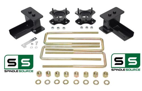 """3""""/2"""" STRUT SPACERS ,  REAR BLOCKS, KIT FITS 2004 - 2008 Ford F-150 4WD"""