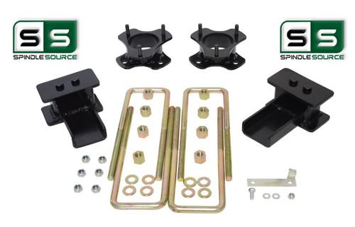 """3""""/3"""" Lift Strut Spacers Blocks Kit Fits 2015 - 2018 Ford F150 2wd"""