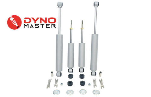 """Drop Shocks for 88-98 Chevy/GMC C1500 w/Coil Spindle FlipKit Shackle 4""""/7-8"""" 2WD"""