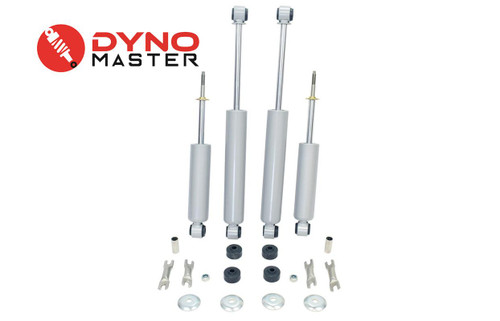 """Lift Shocks For 88-98 Chevy/GMC C1500 w/Coils or Spacer + Shackles 2-3""""/2-3"""" 2WD"""