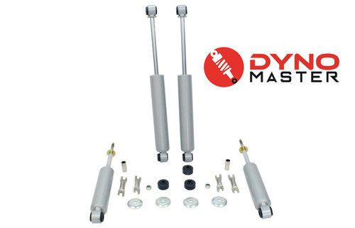 """Lift Shocks For 88-98 Chevy/GMC C1500 w/ Spindle, Spacer and Shackle 6"""" / 4"""" 2WD"""