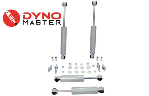 """Drop Shocks for 1973-1987 Chevy C10/GMC C15 w/ Coils Spindle Flip Kit 4""""/6"""" 2WD"""