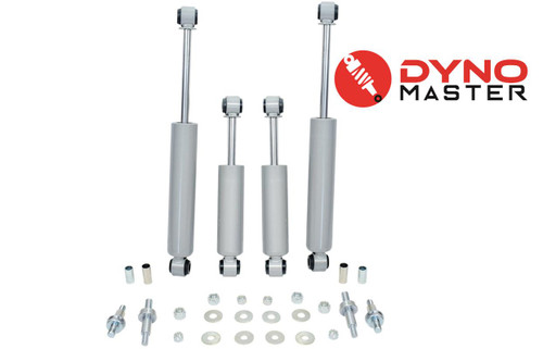 """Drop Shocks For 73-87 Chevy C10/GMC C15 w/Coil Spindle FlipKit Shackle 5""""/7-8"""""""