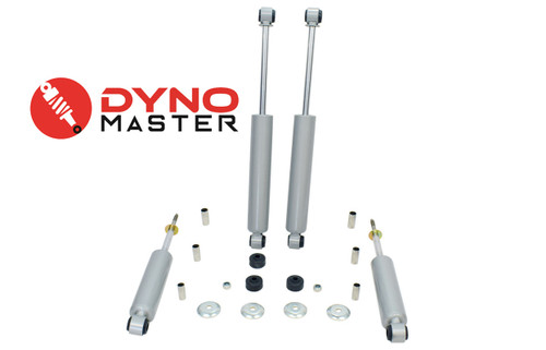 """Drop Shock Kit For 2"""" / 3"""" - 4"""" Drop (Spindles, Shackles, and Drop Hangers) on 94 - 01 Dodge Ram 1500 2WD"""
