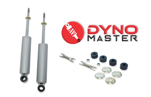 """Front Drop Shock Set For 4"""" Drop (2"""" Drop Spindle and 2"""" Coils on 02 - 08 Dodge Ram 1500 2WD"""