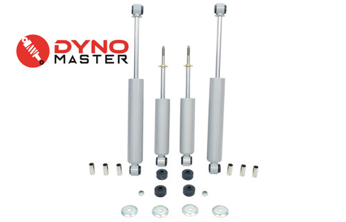 """Lift Shock Kit For 4"""" / 2"""" Lift (Spindles, Coils or Spacers, and Blocks) on 94 - 01 Dodge Ram 1500 2WD"""