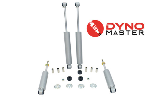 """Lift Shock Kit For 4"""" / 4"""" Lift (Spindles, Coils or Spacers, and Blocks) on 94 - 01 Dodge Ram 1500 2WD"""